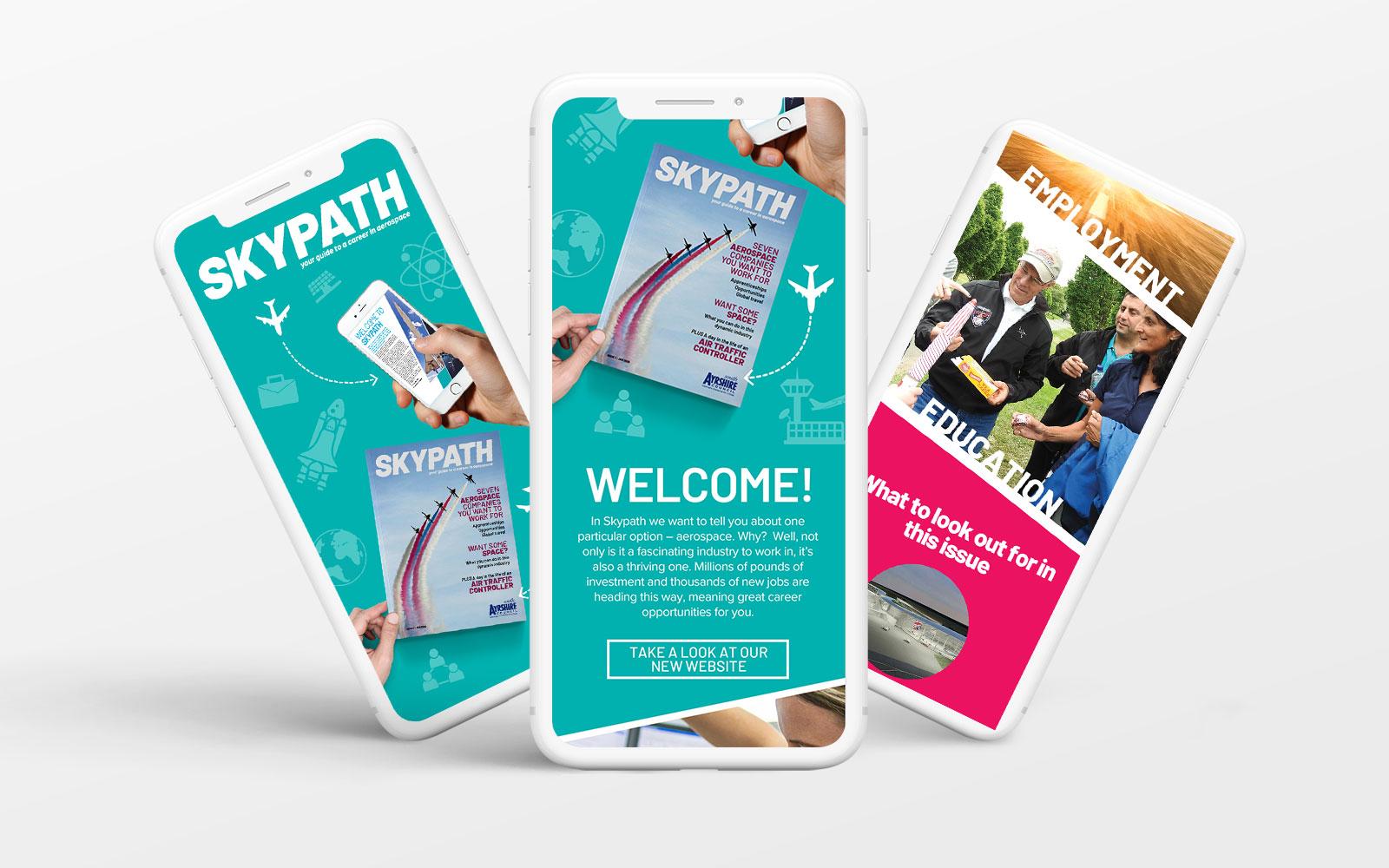 Skypath eshots design