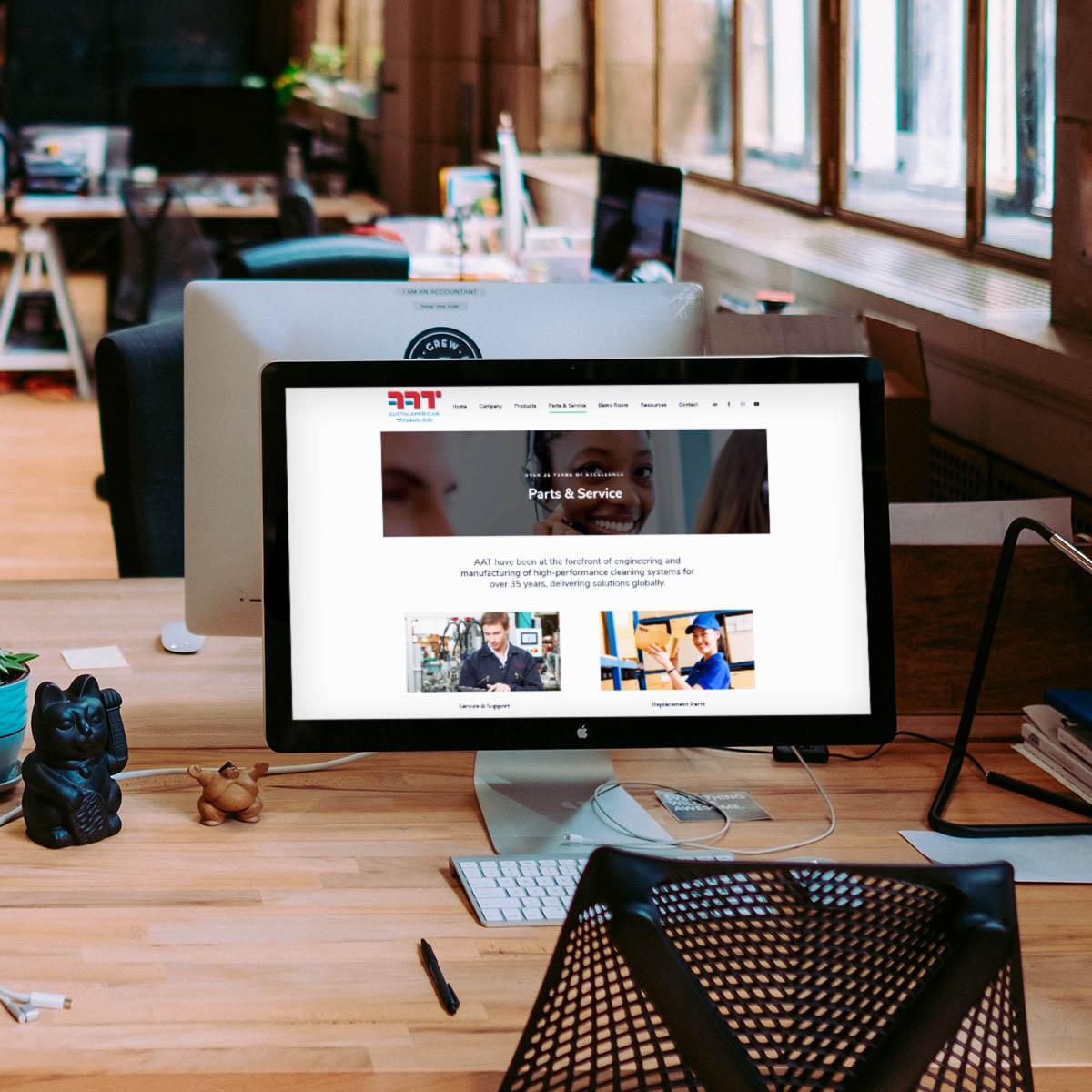 AAT website design