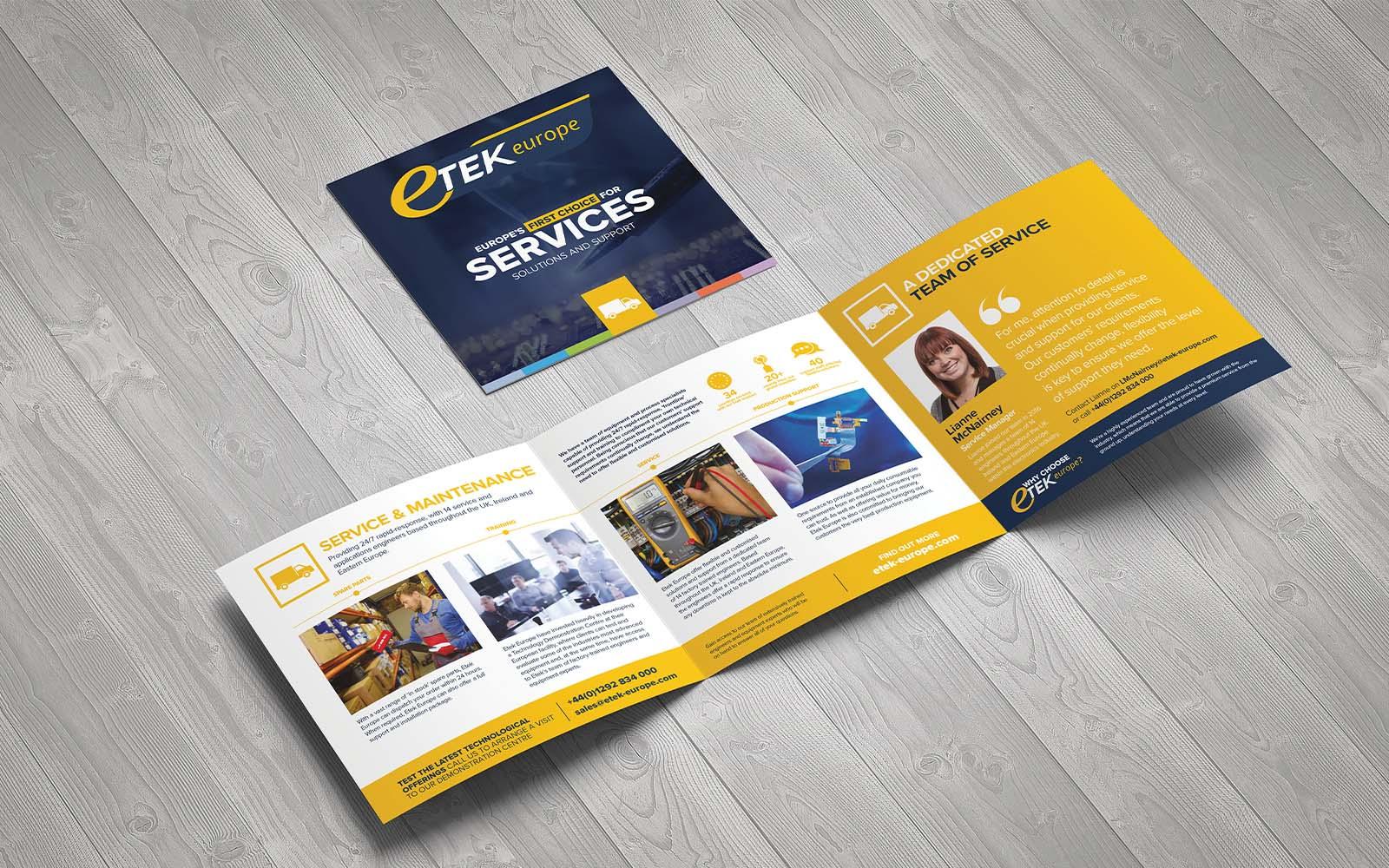 Etek Europe brochure