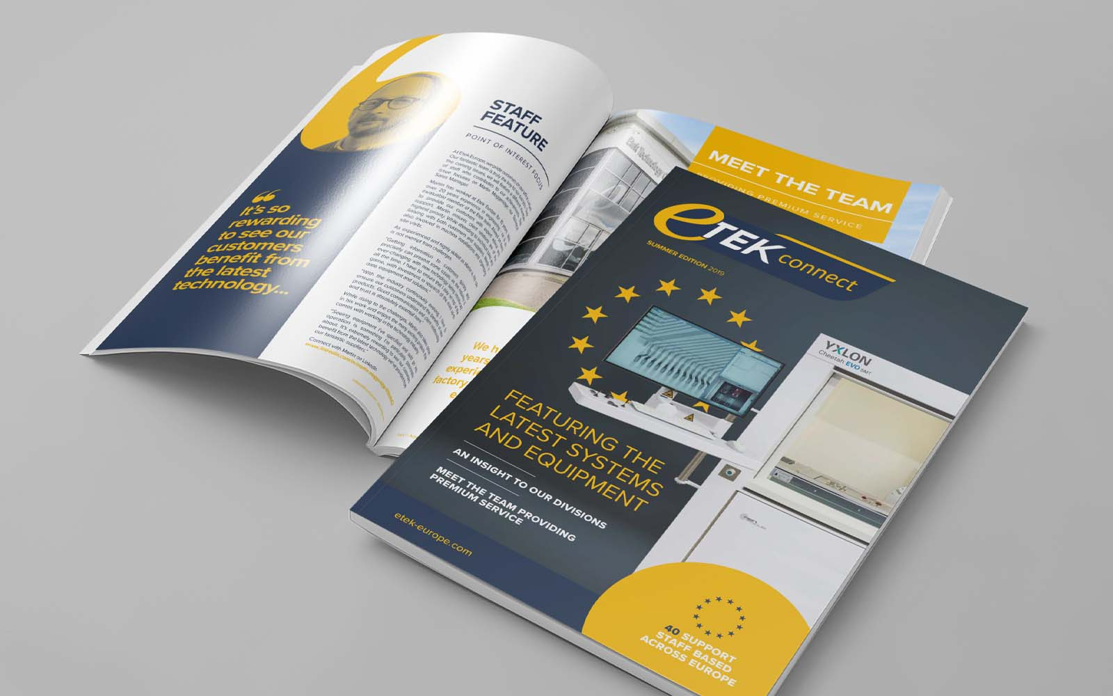 Etek Europe magazine