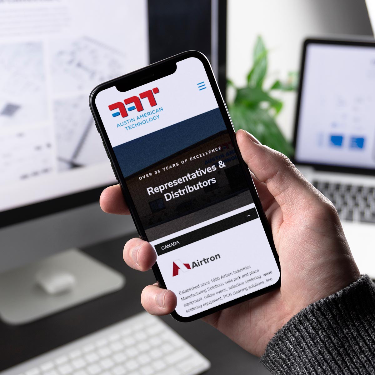 Mobile website design Ayrshire