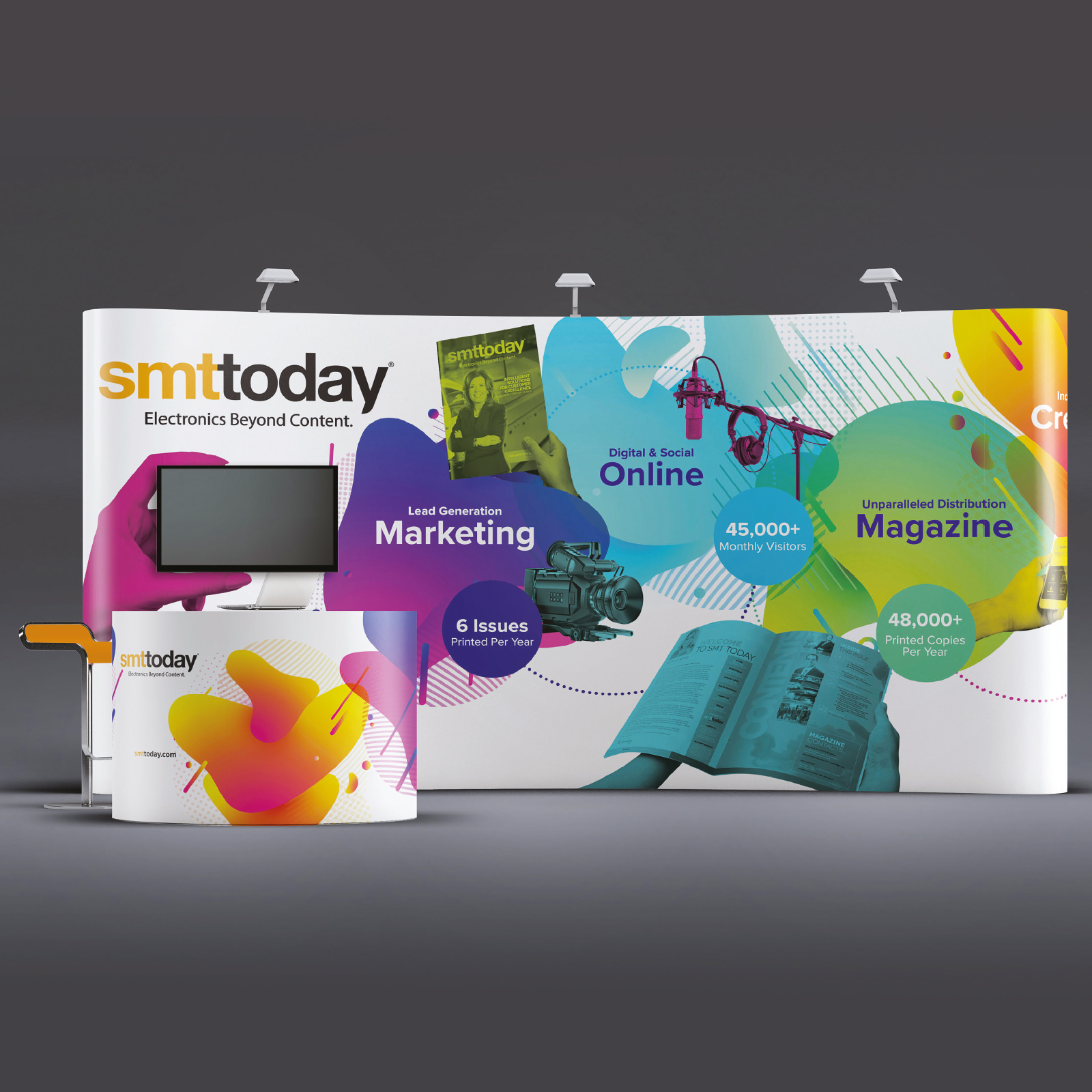 SMT Today Exhibition Design