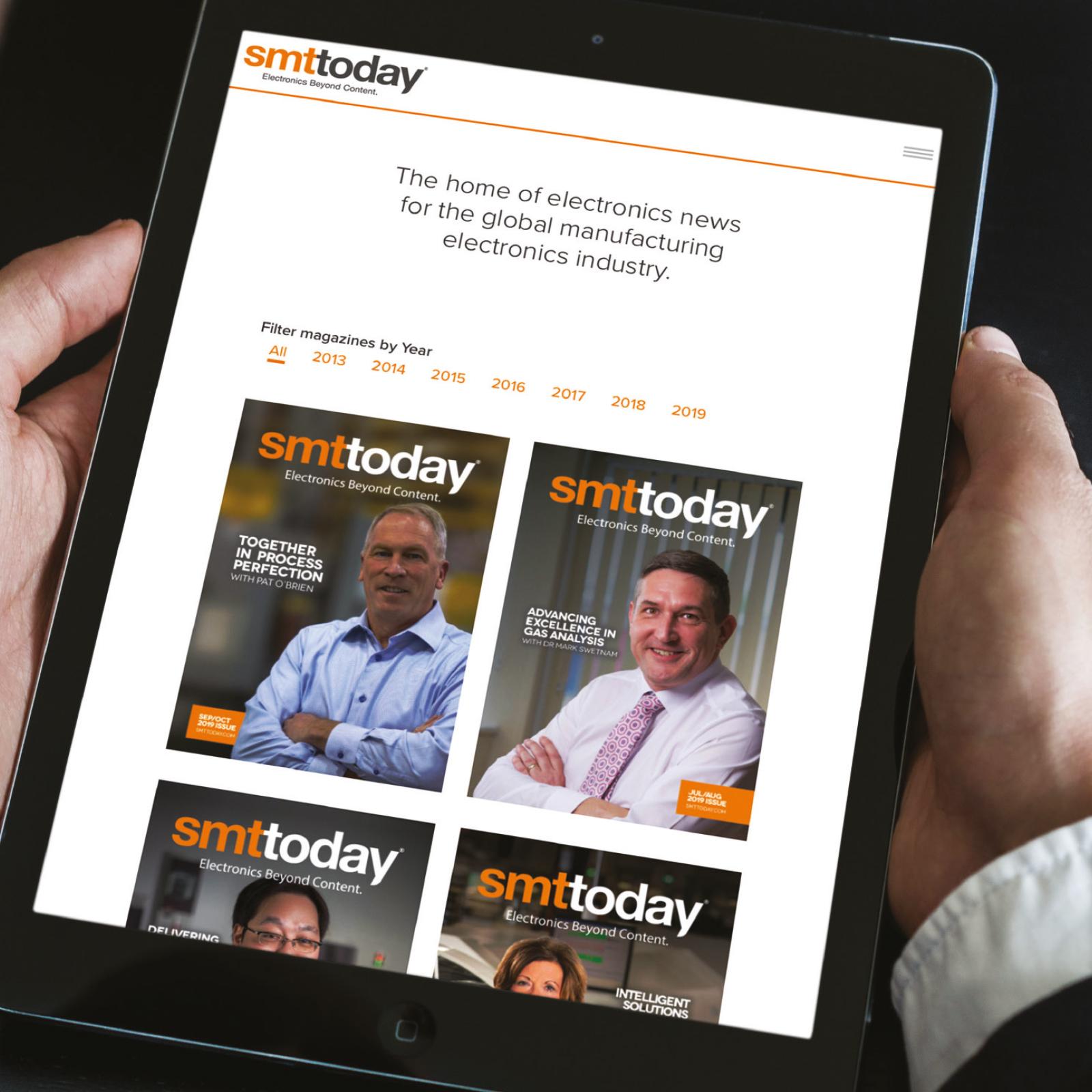 SMT Today Website Design