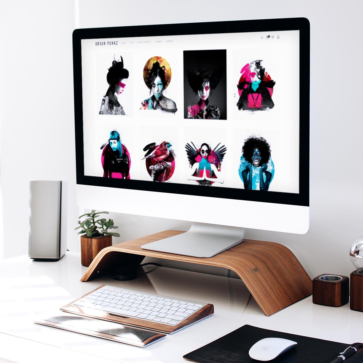 Urban Punkz ecommerce website design
